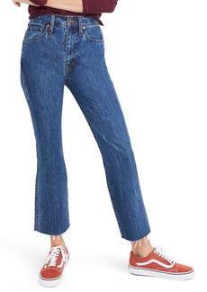 Madewell Rigid Demi Boot Crop Jeans (MacGill)