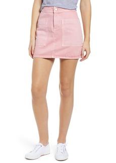 Madewell Rigid Denim High Waist Straight Miniskirt