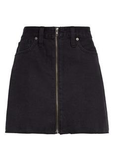 Madewell Rigid Denim Miniskirt