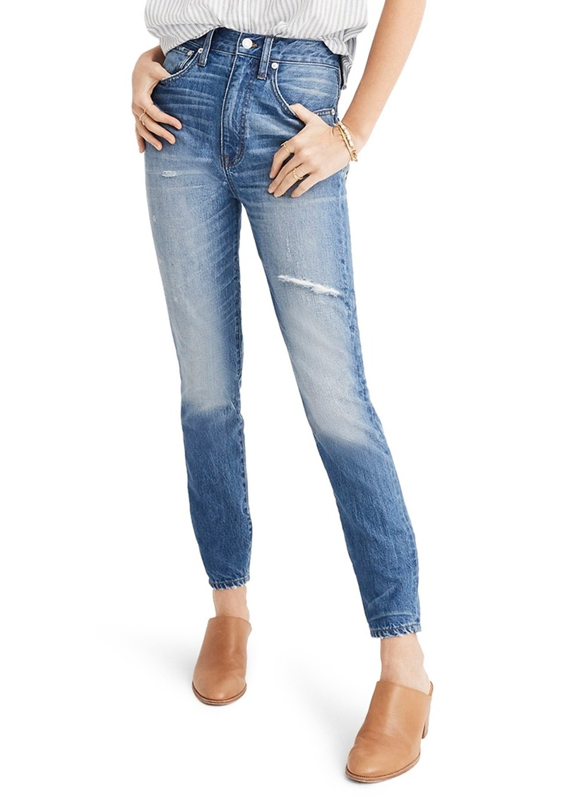 Madewell Rigid High Waist Skinny Jeans (Napa)