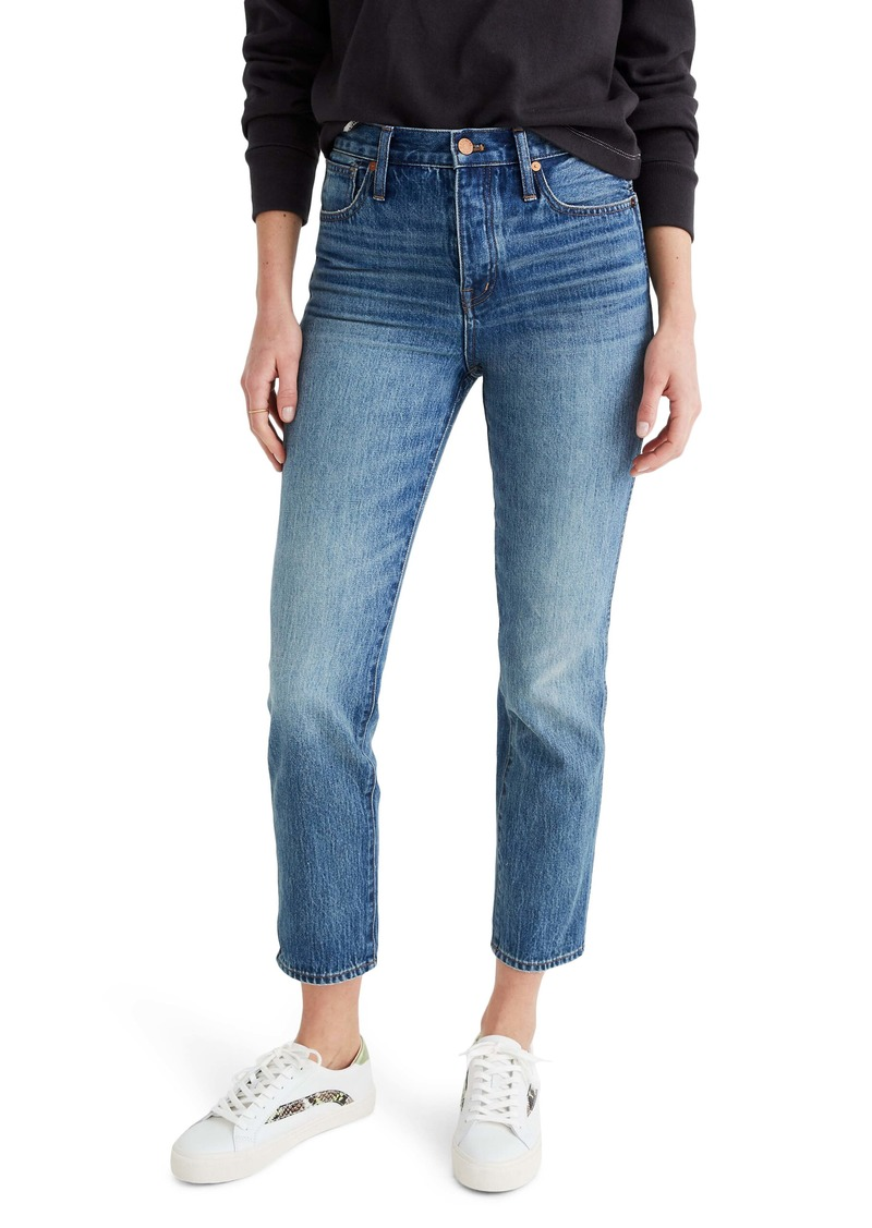 Madewell Rigid Stovepipe Jeans (Portsmith)