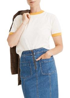 Madewell Ringer Everyday Crop T-Shirt