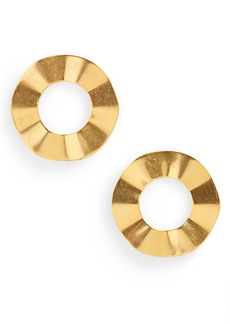 Madewell Ripple Ring Earrings