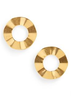 Madewell Ripple Ring Earrings