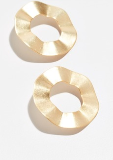 Madewell Rippled Ring Post Earrings