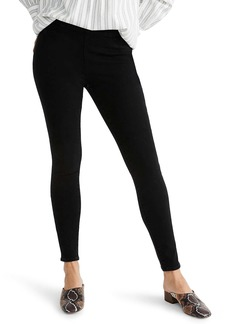 Madewell Roadtripper Pull-On Jeggings (Black Frost)