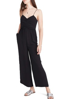 Madewell Ruched Wide Leg Jumpsuit (Regular & Plus Size)