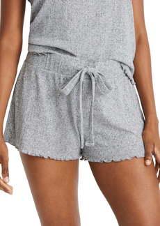 Madewell Ruffle Pajama Shorts
