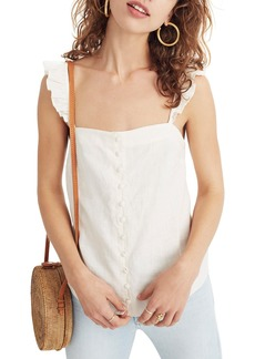 Madewell Ruffle Strap Camisole Top