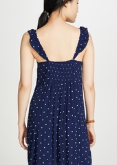 Madewell Ruffle Strap Button Front Dress