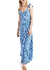 Madewell madewell ruffle wrap maxi dress abveae9dbef a