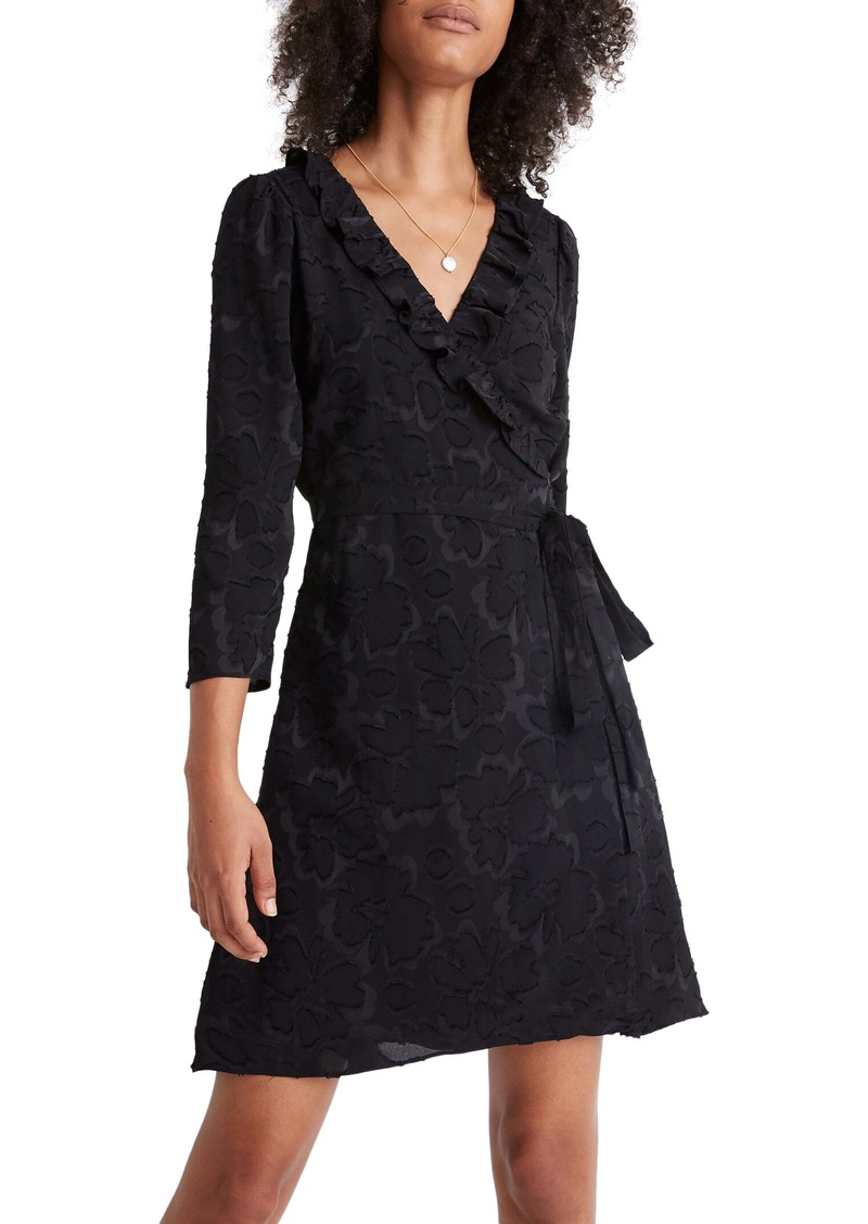 Madewell Ruffled Wrap Dress