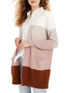Madewell Ryder Stripe Cardigan Sweater