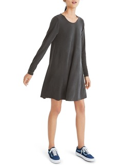 Madewell Sandwashed Swingy T-Shirt Dress