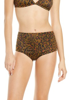 Madewell Second Wave Retro High-Waisted Bikini Bottoms