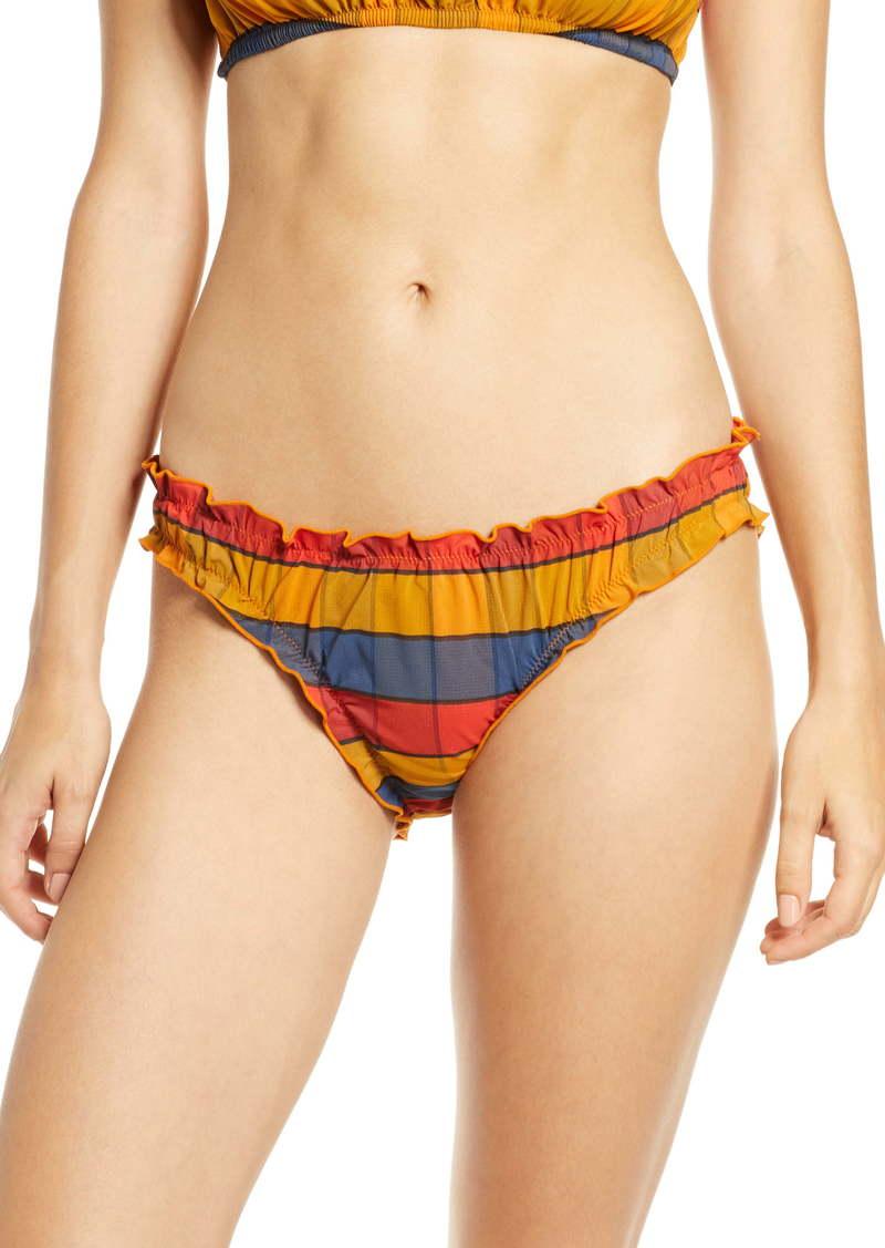 Madewell Second Wave Ruffled Bikini Bottom