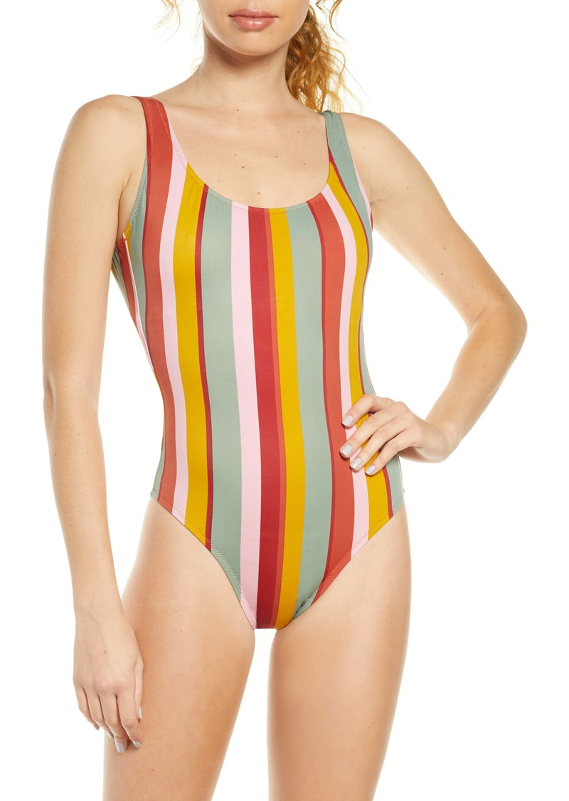 Madewell Second Wave Tank One-Piece Swimsuit