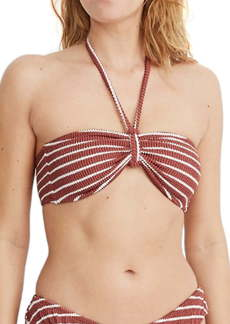 Madewell Second Wave Textured Bandeau Bikini Top