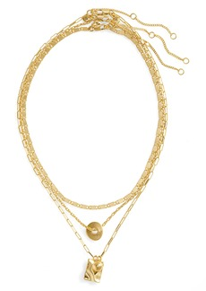 Madewell Set of Three Chain Necklaces