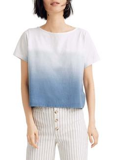 Madewell Setlist Dip Dye Boxy T-Shirt