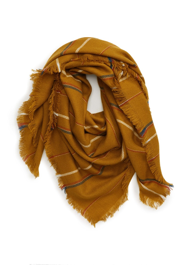 Madewell Shalford Stripe Blanket Scarf