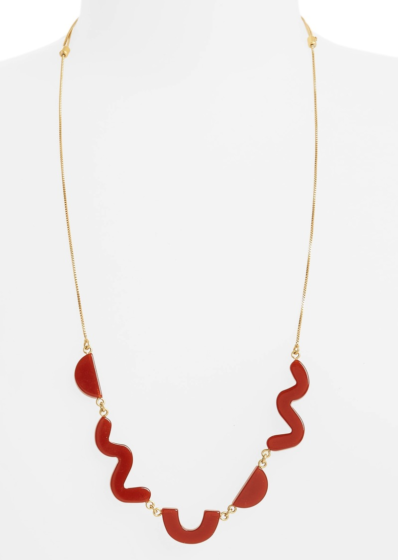 Madewell madewell shapes long statement necklace now 2299 madewell shapes long statement necklace aloadofball Gallery