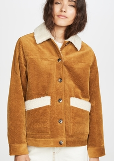 Madewell Sherpa Corduroy Shore Jacket
