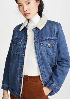 Madewell Sherpa Lined Jean Jacket