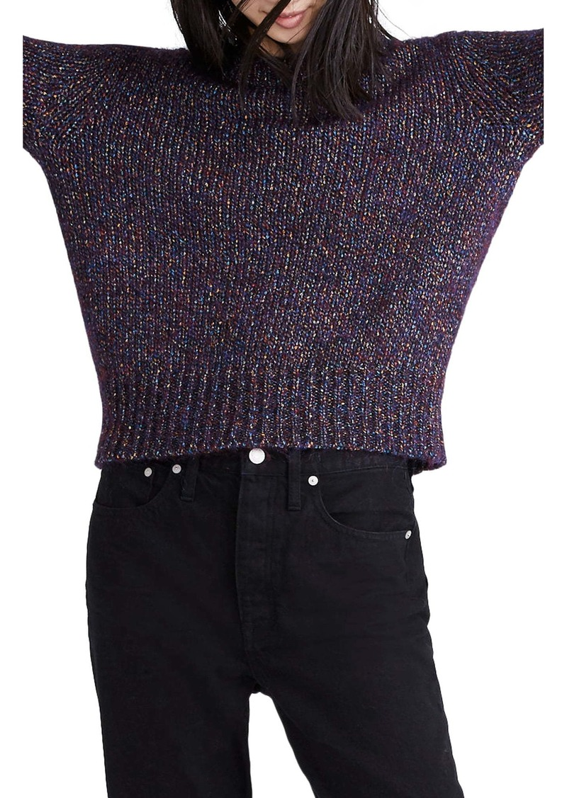 Madewell Shimmer Pullover Sweater