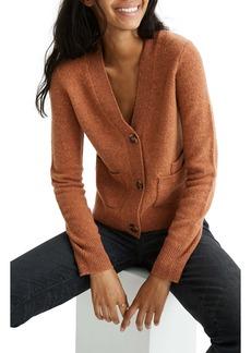 Madewell Shrunken Cardigan Sweater