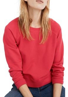 Madewell Shrunken Recycled Cotton Sweatshirt