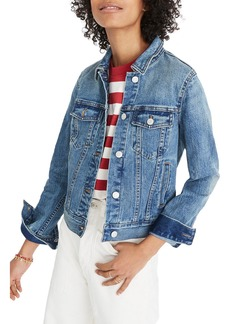 Madewell Shrunken Stretch Denim Jacket