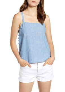 Madewell Side Button Chambray Camisole
