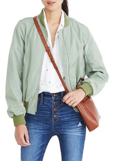 Madewell Side Zip Bomber Jacket