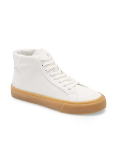 Madewell Sidewalk High Top Sneakers in Recycled Canvas (Women)