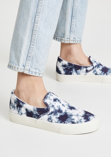 Madewell Sidewalk Slip On Tie Dye Sneakers