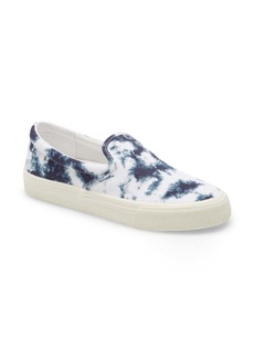 Madewell Sidewalk Tie Dye Recycled Canvas Slip-On Sneaker (Women)