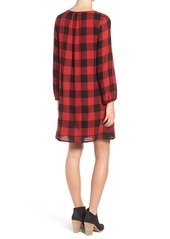 Madewell Signal Buffalo Check Tunic Dress