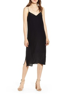 Madewell Silk Cami Slipdress