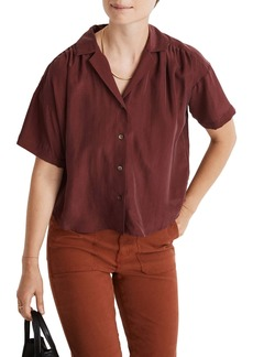 Madewell Silk Camp Shirt