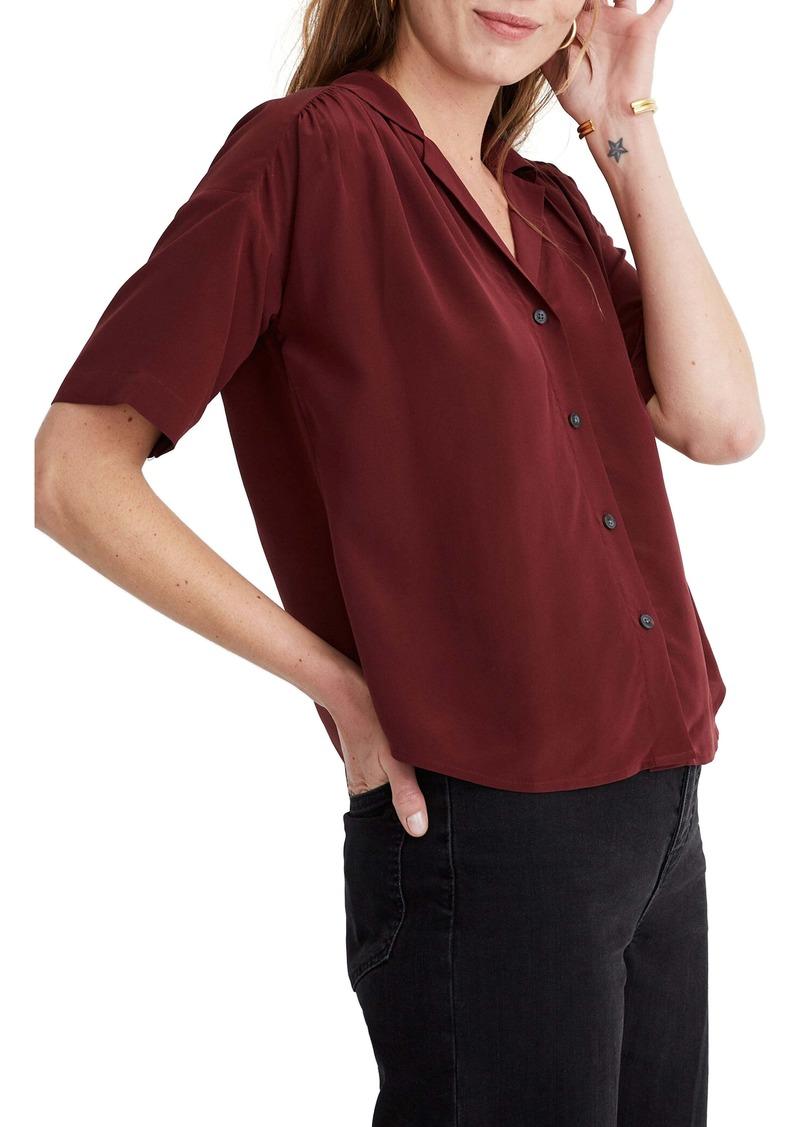 Madewell Silk Camp Shirt