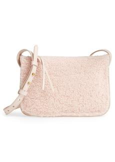 Madewell Simple Genuine Shearling Crossbody Bag
