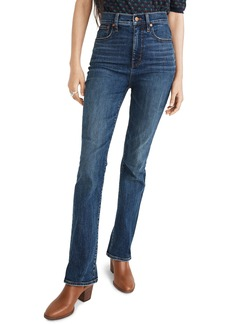 Madewell Skinny Flare Jeans (Abney Wash)