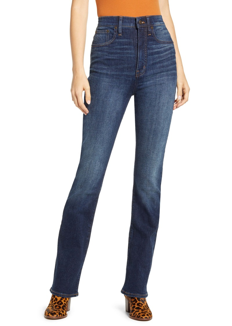 Madewell Skinny Flare Jeans (Lasalle Wash)