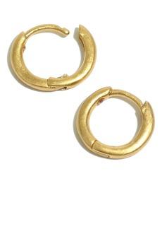 Madewell Skinny Huggie Hoop Earrings