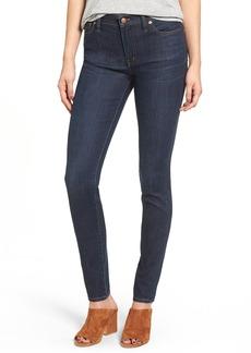 Madewell High Waist Skinny Jeans (Larkspur Wash)