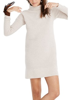 Madewell Skyscraper Merino Wool Sweater Dress