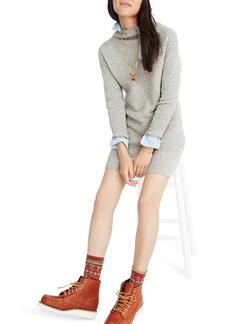Madewell Skyscraper Merino Wool Sweater Dress