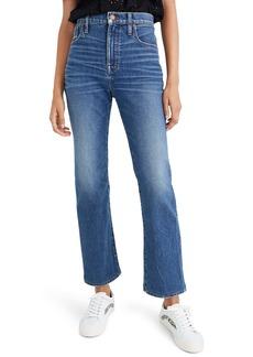 Madewell Slim Demi-Boot Jeans (Sundale Wash)