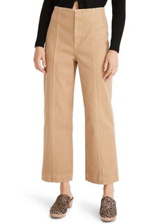 Madewell Slim Emmett Wide Leg Pants